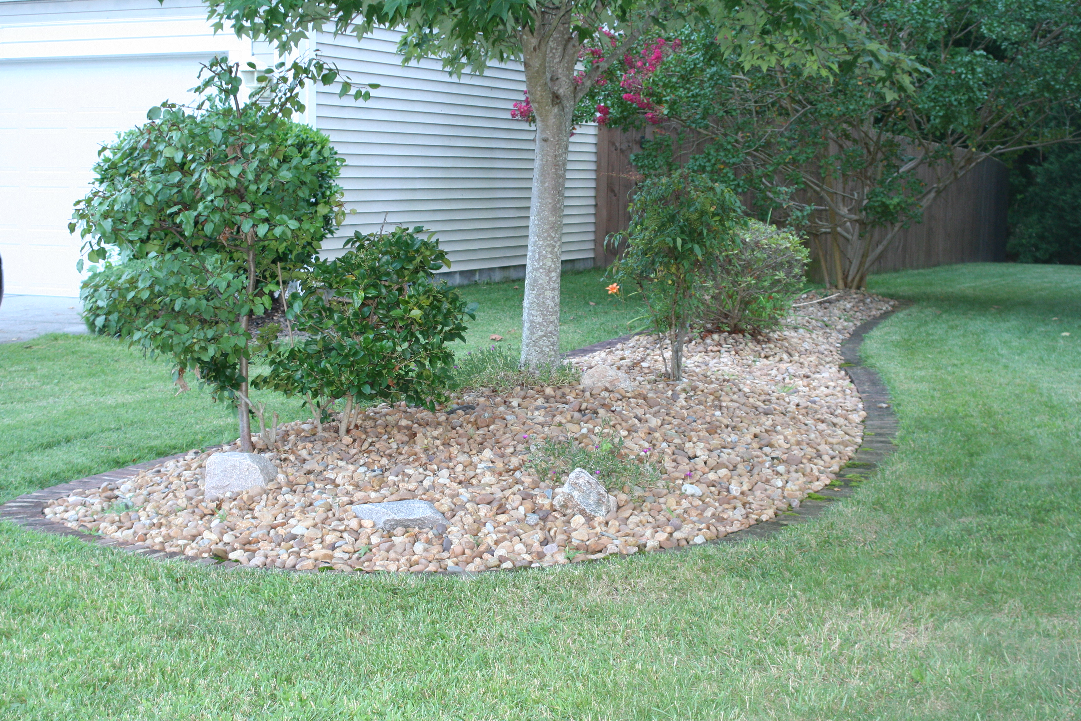 Chesapeake river rock daw and son general contracting for Landscaping rocks virginia beach